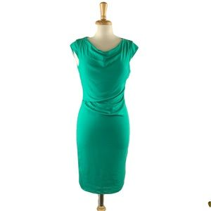 Reiss cap sleeve sheath dress